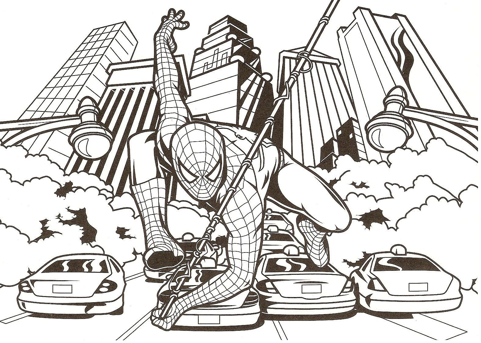 Coloriage spiderman - Coloriage spiderman a imprimer ...
