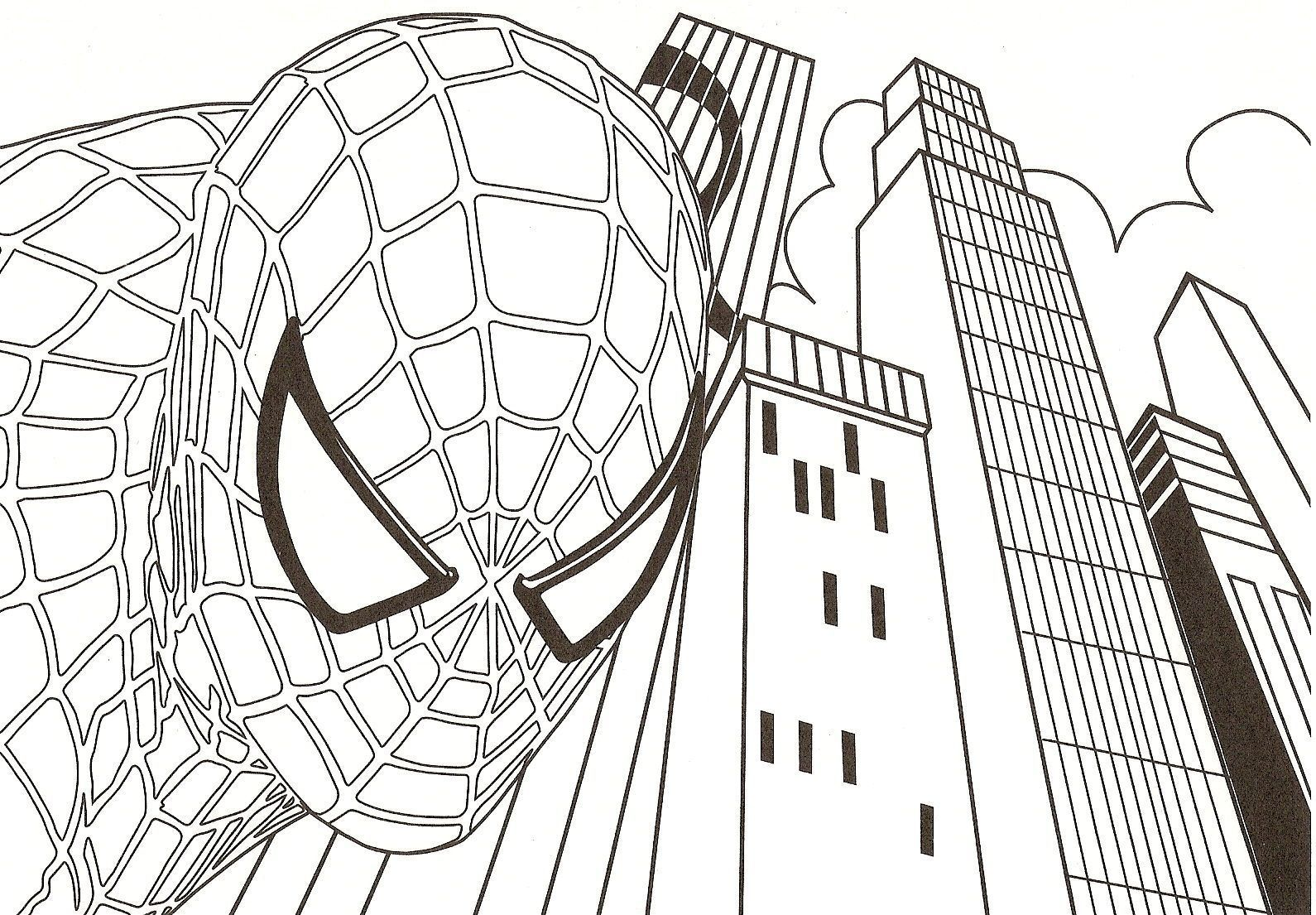 Coloriage spiderman centerblog - Coloriage the amazing spider man ...
